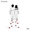 Cartoon: If you love (small) by emraharikan tagged if,you,love