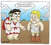 Cartoon: Ceaser And Brutus (small) by gunberk tagged ugg,brutus,rome
