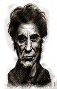 Cartoon: al pacino (small) by Medi Belortaja tagged al,pacino,famous,people,actors