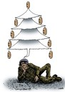 Cartoon: christmas dream (small) by Medi Belortaja tagged christmas,dream,poor,poverty,beggar,beggary,financial,crisis,bread,hunger,hungry