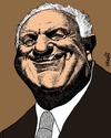 Cartoon: Eduard Shevardnadze (small) by Medi Belortaja tagged eduard shevardnadze