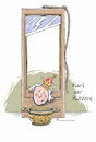Cartoon: Kürzlich Verstorben (small) by Riemann tagged aristokratie,guillotine,monarchen,fallbeil,wortspiel,cartoon,george,riemann