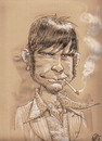 Cartoon: Enzo Complotto (small) by giuliodevita tagged enzo,complotto,portrait