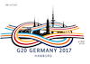 Cartoon: G20 Gipfel in Hamburg (small) by A Tale tagged g20,gipfel,hamburg,deutschland,2017,ausnahmezustand,sicherheitsmaßnahmen,sperrung,verbote,großereignis,regierungschefs,staatschefs,20,länder,usa,europa,tigerstaaten,konferent,verhandlungen,großer,aufwand,kaum,ergebnisse,kritk,proteste,einschränkung,demonstrationen,politik,logo,schlinge,knoten,karikatur,cartoon,illustration,tale,agostino,natale