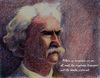 Cartoon: Mark Twain (small) by A Tale tagged portrait,porträt,mark,twain,schriftsteller,writer