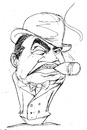 Cartoon: Edward G Robinson (small) by Andyp57 tagged caricature,pen