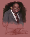 Cartoon: Forest Whitaker caricature (small) by jit tagged forest,whitaker,caricature