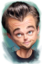 Cartoon: Leonardo DiCaprio (small) by besikdug tagged dicaprio,caricature,besikdug,best