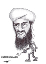 Cartoon: OSAMA BIN LADEN (small) by serkan surek tagged surekcartoons
