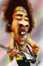 Cartoon: Jimi Hendrix (small) by cesar mascarenhas tagged jimi hendrix caricature ipodtouch touch fingerpaint color music guitar woodstock piece sketchbook mobile