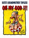 Cartoon: OH MY GOD !! (small) by Roberto Mangosi tagged kate,topless,photo,middleton,closer
