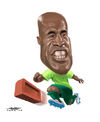 Cartoon: Marcos Assuncao (small) by Alex Pereira tagged palmeiras,football,soccer