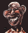 Cartoon: Mandela Experience (small) by Amauri Alves tagged digital experience