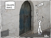 Cartoon: welcome home (small) by kika tagged welcome,home