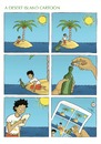 Cartoon: A desert island cartoon (small) by badham tagged desert,island,cartoon,badham