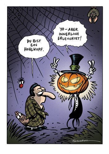 Halloween-Cartoon