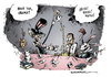 Cartoon: Obama und die Tea Party (small) by Schwarwel tagged obama,amt,amtszeit,präsident,us,usa,karikatur,tea,party,time,macht,republiknaner,schwarwel,halbzeitwahl,stimmungstest,test,stimmung,staat,bundesstaat,amerika,politik,regierung,putzfrau,putz,repräsentantenhaus