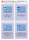 Cartoon: The new Greek flag-s (small) by etc tagged greek,flag,economic,crisis