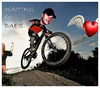 Cartoon: BAES - waiting (small) by edda von sinnen tagged bertram,haid,baes,hommage,bicycles,waiting,series,cartoon,caricature,composing,illustration,heart,herz,halodri,edda,von,sinnen,tirol
