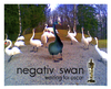 Cartoon: negativ swan (small) by edda von sinnen tagged oskarverleihung,2011,movie,black,swan,ballett,edda,von,sinnen
