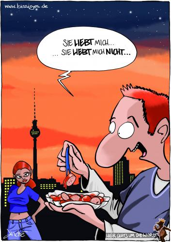 Cartoon: CURRY WURST CONTEST 033 (medium) by toonpool com tagged currywurst,contest