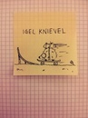 Cartoon: Igel Knievel (small) by Post its of death tagged igel