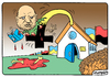 Cartoon: Alexander Turchinov (small) by Igor Kolgarev tagged ukrainian,banderovets,junta,minister,speaker,security,killer,blood,war,donbass,kiev,ukraine,church,pastor,ukrainisch,sprecher,sicherheit,blut,krieg,kiew,kirche