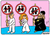 Cartoon: We oppose sodomy (small) by Igor Kolgarev tagged homosexuality,sodomy,sodomits,geys,lesbi