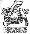 Cartoon: nestle (small) by raim tagged nestle,horse