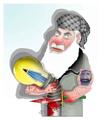 Cartoon: Afghan Warlods !!! (medium) by Shahid Atiq tagged afghanistan,balkh,helmand,kabul,london,nangarhar,and,ghor,attack