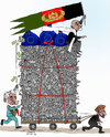 Cartoon: Afghanistan and EU Deal (small) by Afghancartoon tagged afghanistan,kabul,syria,iran,switzerland,schweiz,usa,france,football,safi,cartooneu,uk,safe,atiq,fara,shahid,nice
