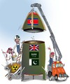Cartoon: Producers of nuclear (small) by Shahid Atiq tagged afghanistan,kabul,syria,iran,switzerland,schweiz,usa,france,football,safi,cartooneu,uk,safe,atiq,fara,shahid,nice,caricatue,cartoon,on,entry,raiyan