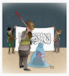 Cartoon: Violence against women... (small) by Shahid Atiq tagged afghanistan