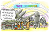 Cartoon: Toy Museum (small) by gonopolsky tagged weapon,humanity