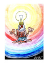 Cartoon: The enlightened (small) by alves tagged cartoon