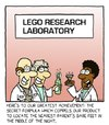 Cartoon: legos (small) by sardonic salad tagged lego,research,and,development,cartoon,comic,sardonic,salad,parents
