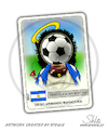 Cartoon: Diego Armando Maradona (small) by stewie tagged maradona,soccer,fussball,fußball