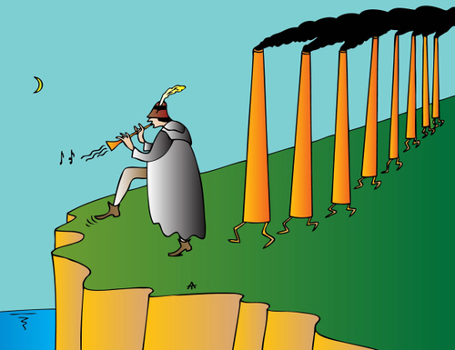 Cartoon: Ecology (medium) by Alexei Talimonov tagged ecology,global,warming,climate,change