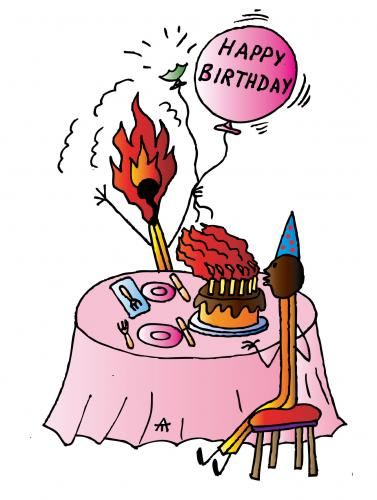 birthday pictures cartoon. Cartoon: Happy Birthday
