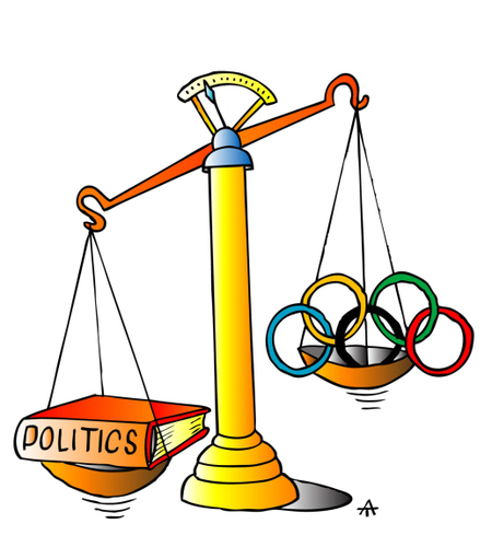 Cartoon: Politics (medium) by Alexei Talimonov tagged politics,sports