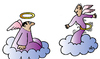 Cartoon: Angels (small) by Alexei Talimonov tagged angels