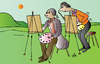 Cartoon: Artists (small) by Alexei Talimonov tagged artists