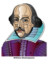 Cartoon: William Shakespeare (small) by Alexei Talimonov tagged shakespeare