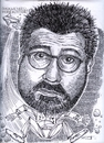 Cartoon: Kevin Smith (small) by Cartoons and Illustrations by Jim McDermott tagged movies,caricatures,actor,action,kevinsmith