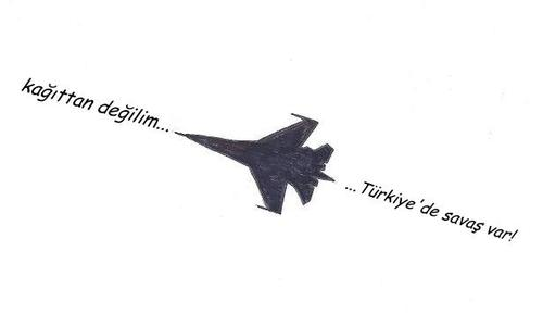 Cartoon: War in Turkey-3 (medium) by adimizi tagged cizgi