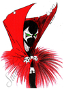 Cartoon: spawn (small) by Suat Serkan Celmeli tagged spawn