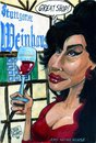Cartoon: Ami Winehouse (small) by jean gouders cartoons tagged ami wine house jean gouders