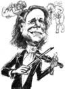 Cartoon: Andre Rieu (small) by jean gouders cartoons tagged andre rieu jean gouders