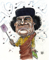 Cartoon: Khadaffi fights back. (small) by jean gouders cartoons tagged khadaffi,revolution,uprise,libia