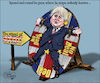 Cartoon: round and round (small) by jean gouders cartoons tagged boris,johnso,brexit,no,deal,negotiations